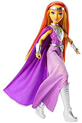 Mattel DC Super Hero Girls Premium Starfire Action Doll, 12""