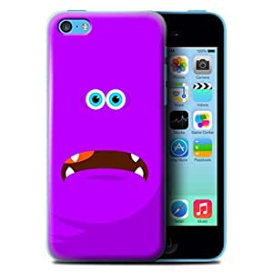 STUFF4 Phone Case / Cover for Apple iPhone 5C / Purple Design / Monsters Collection