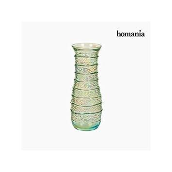 5 Botella de Vidrio Reciclado - Colección Pure Crystal Deco by Homania