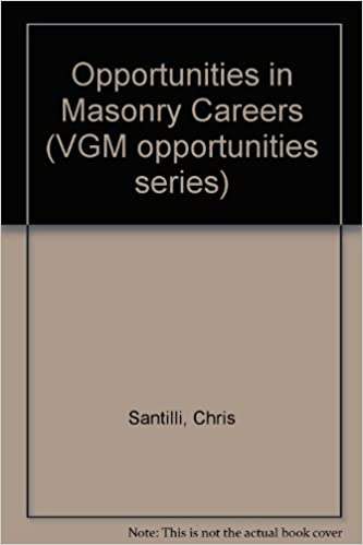 Opportunities in Masonry Careers