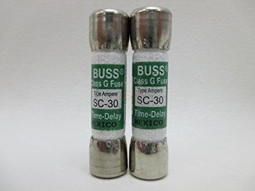 - 2 X Spa Hot Tub Fuse SC-30 SC30 30 Amp Buss Littlefuse SLC30 Balboa Gecko Lot