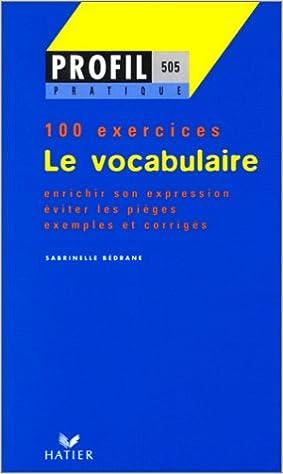Télécharger en ligne Le vocabulaire pdf, epub
