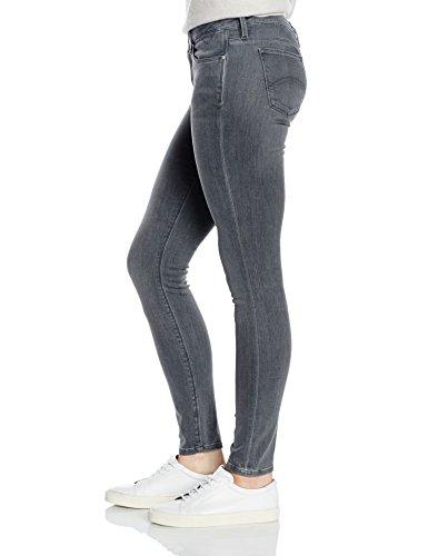 Jean Skinny Rise Skinny Grey Tommy Grest Jeans Mid Femme Nora Gris Stretch WvrYWB