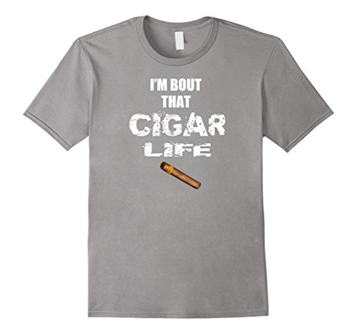 Mens Cigar Shirt Gift Idea Funny Cigar Accessories Gift Set 2XL (Big Smoke Cigar)