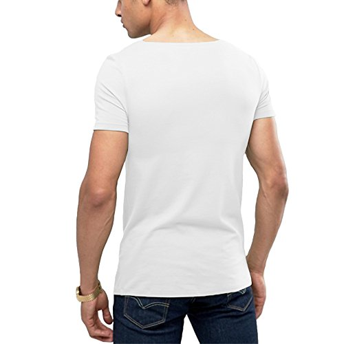 4a99d8a5 OA ONRUSH AESTHETICS OA Men's Muscle Fit T-Shirt with Boat Neck ...