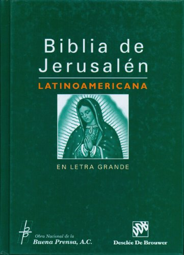 Price comparison product image Biblia De Jerusalen Latinoamericana En Letra Grande (Spanish Edition)