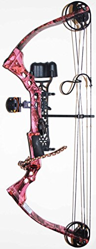 Pink Parker SideKick XP Compound Bow Package RH 30-50 lb 18″-28″ Draw Lady youth Review