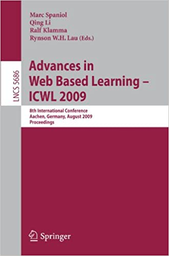 Advances in Web Based Learning - ICWL 2009: 8th