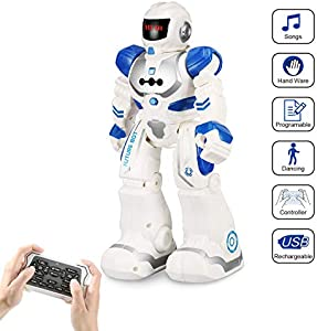 Remote Control Robots for Kids by FUNEW-RC Programmable...