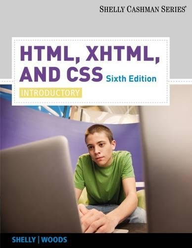 HTML, XHTML, and CSS: Introductory (Available Titles Skills Assessment Manager (SAM) - Office 2007) by Brand: Cengage Learning