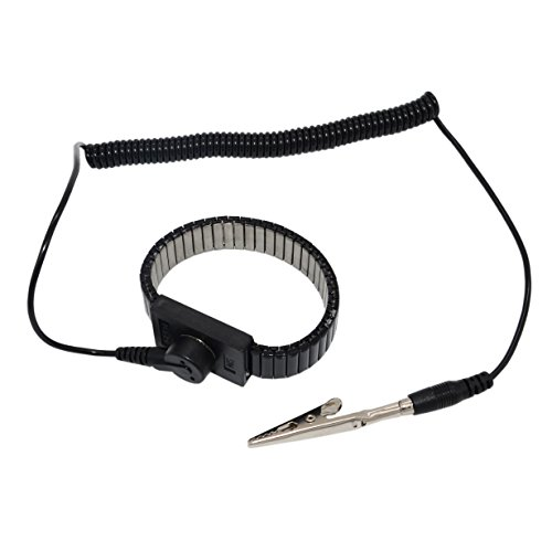 Maxfresh Anti-Static Adjustable Grounding Wrist Strap(Metal)