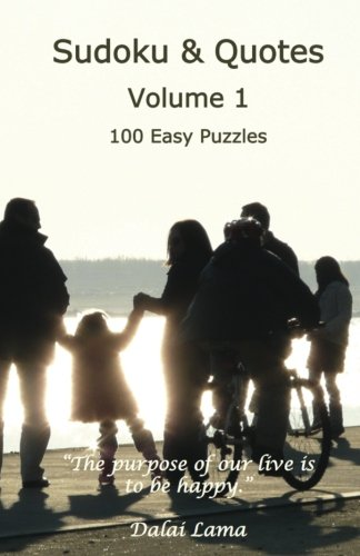 Sudoku & Quotes Volume 1: 100 Easy Puzzles pdf epub