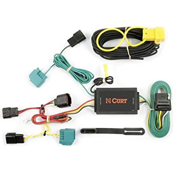 41YSWrEZ0uL._SL500_AC_SS350_ amazon com curt 56154 custom wiring harness automotive dodge journey wiring harness at bayanpartner.co
