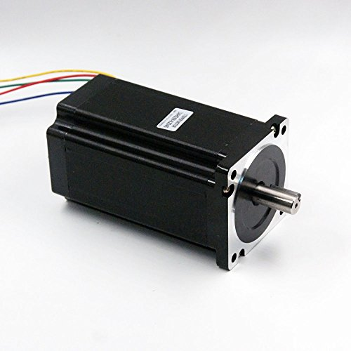 Nema 34 Stepper Motor 6A 12Nm (1700 oz-in) 156mm Length for CNC Router Mill Lathe