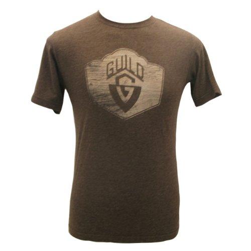 Guild® Wood Grain T-Shirt, Brown, S