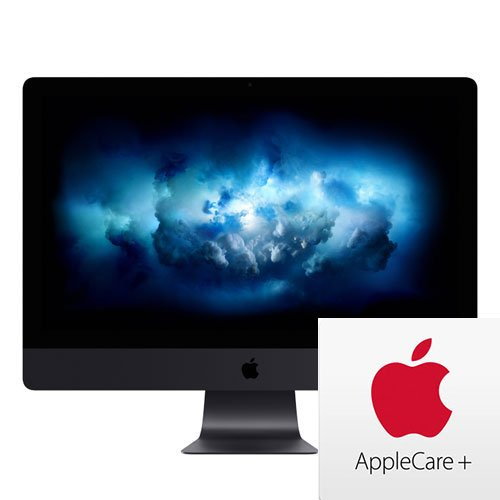 "Apple 27"" iMac Pro (Z0UR0008W) with Retina 5K Display W/AppleCare+: 3.0GHz, 10-core Intel Xeon W, 64GB RAM, 2TB, Vega 64, Mouse and Keyboard (Late 2017)"