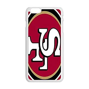 NFL San Francisco 49ers Team Logo Cell Phone Case for Iphone 6 Plus