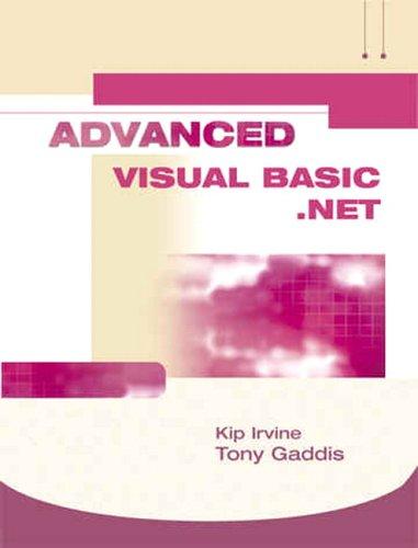 Advanced VB.NET Alternate with VB.Net CD's (3rd Edition)
