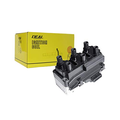 Deal Set of 1 Ignition Coil (6 Coil Packs in The Unit) for Following Models with 2.8L V6 93-94 Volkswagen Corrado 99-01 Eurovan 95-97 Golf 94-98 Jetta 95-97 Passat 021 905 106