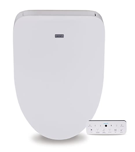 Remarkable Divine Ub4800 Elegant And Luxurious Advanced Electronic Bidet Toilet Seat With Sleek Wireless Touchscreen Remote And Cozy Heated Seat Elongated White Alphanode Cool Chair Designs And Ideas Alphanodeonline