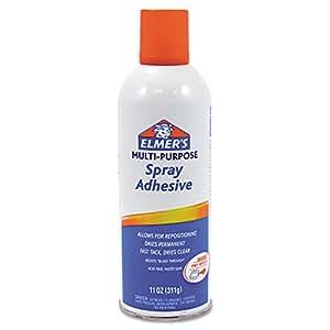 Elmer's Fast Tack Spray Adhesive - 11 oz - 1Each - Clear