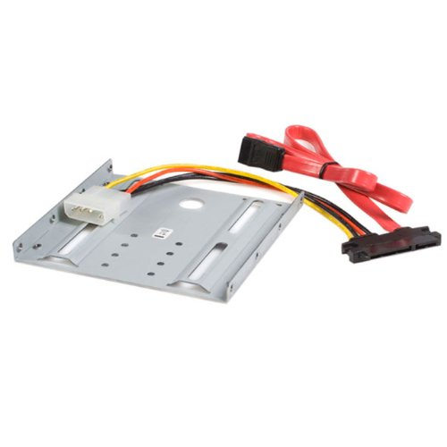StarTech.com BRACKET25SAT 2.5 Inch SATA Hard Drive to 3.5 Inch Drive Bay Mounting Kit
