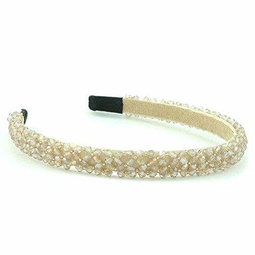 Bijoux de cheveux bandeau - Laiton - Bijou de tête - Cristaux - Orange - Isis - Cadeau Femme pas cher - Mes Bijoux Bracelets