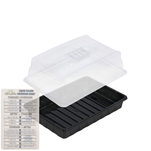 Vent Twin - Super Sprouter Simple Start Cloning Kit: Propagation Tray (8