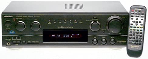 Technics SA-AX530 Surround Receiver Discontinued by Manufacturer