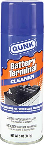 Gunk BTC6 Blue Battery Terminal Cleaner, 6. Fluid_Ounces
