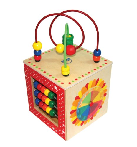 Hape Discovery Box Wooden Activity Center Baby - Hours Store Independence Center