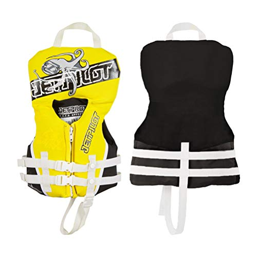 Jet Pilot Infant U.S Coast Guard Approved PFD Life Vest, Yellow