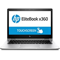 HP EliteBook X360 1030 G2 13.3-Inch TouchScreen 256GB SSD 2-in-1 Laptop (3 Year Warranty, 2.6GHz 7th Generation i5, 8GB DDR4 RAM, Windows 10 Pro) Silver - 1BS97UT#ABA