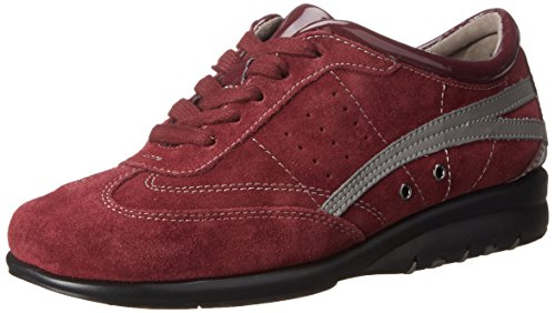 Red Suede Air Women's Dark Cushion Aerosoles Sneaker Fashion xqgAwHxzY