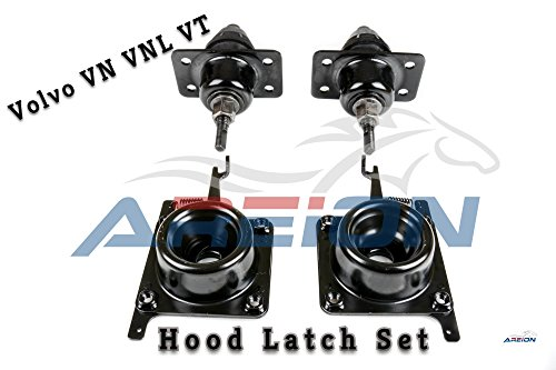 Oem Hood Latch (Volvo Upper Hood Release Latches and Lower Hood Lock Set | 4 Pieces | Driver and Passenger Side Lower Hood Latches | 2004-2017 Models | OEM Replacement | Areion)
