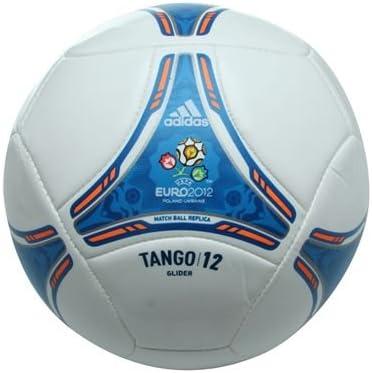adidas Tango 12 Glider Balón UEFA Euro 2012 White de Blue - 5 ...