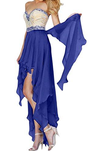 Missdressy -  Vestito  - linea ad a - Donna blu royal 44