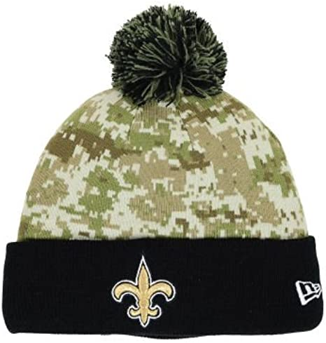 best price outlet for sale best wholesaler New Era New Orleans Saints Cuff Knit Beanie w ... - Amazon.com