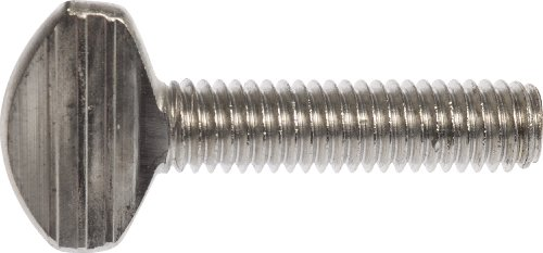 The Hillman Group 44935 1/4-20 x 1/2-Inch Stainless Steel Thumb Screw, -