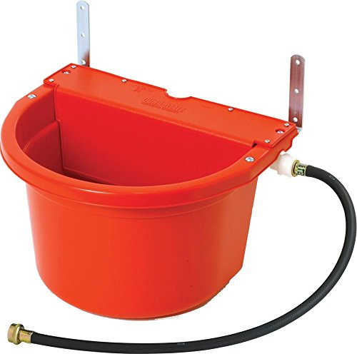 LITTLE GIANT FW16 Automatic Waterer, 16 Quart, Red by LITTLE GIANT