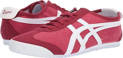 Onitsuka Tiger Unisex Mexico 66 Classic Red/White Sneaker - - Sneakers Stripes Women Red