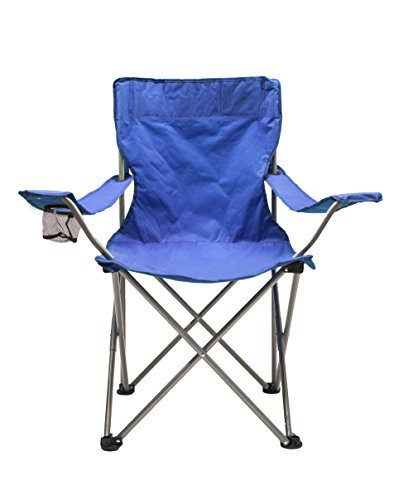 World-Famous-Sports-Camping-Quad-Chair-with-High-Back-Blue