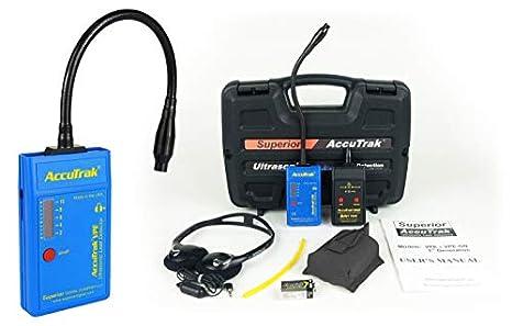 accutrak vpe-gn Plus Kit detector de fugas ultrasónico con cuello de cisne: Amazon.es: Amazon.es