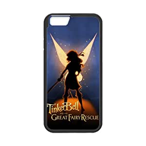 Classic Style Custom Silicone Hard Rubber Protector Case for iPhone6(4.7inch) - Tinker Bell
