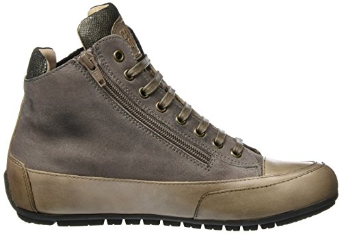 Candice Cooper Dame Camoscio Vint. Candice Cooper Dame Ruskind Vint. Hohe Sneaker Grå (taupe) Grå, Høj Sneaker (taupe)