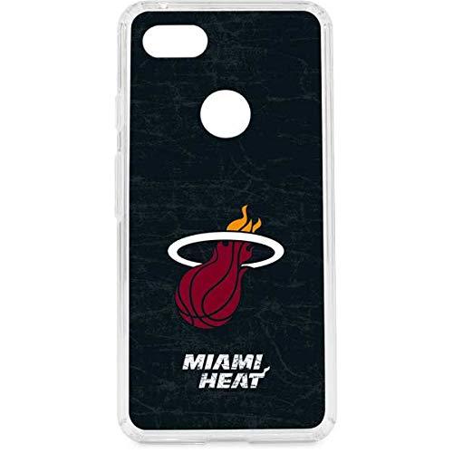 (Miami Heat Google Pixel 3 XL Case - NBA   Skinit Clear Case - Clear Google Pixel 3 XL Cover)