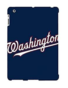 Defender Case For Ipad 2/3/4, Baseball Washington Nationals 3 Pattern, Nice Case For Lover's Gift