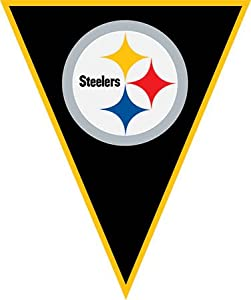 pennant banner - pittsburgh steelers by Amscan