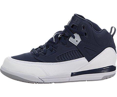 more photos 6a404 eb4f3 Galleon - Nike Air Jordan Spizike BG Grade School Black Cement  Grey White Red, 5.5