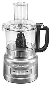 KitchenAid KFP0718CU 7-Cup Food Processor Chop, Puree, Shred and Slice - Contour Silver